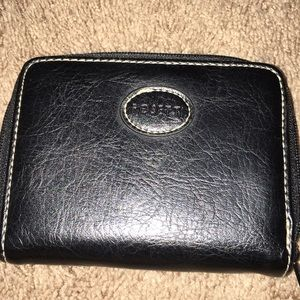 Small Rosetti black wallet